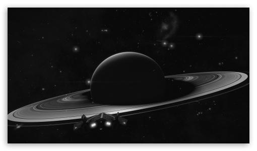 Download Arrival at Saturn UltraHD Wallpaper