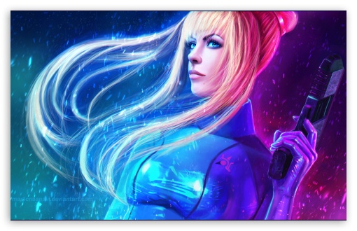 Download Samus Aran - Metroid UltraHD Wallpaper