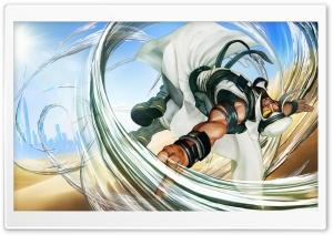 Street Fighter V Rashid 2016...