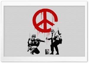 Banksy Peace