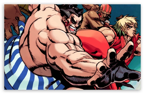 Download Street Fighter Hyper UltraHD Wallpaper