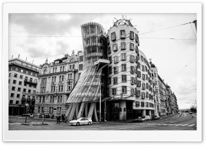 The Dancing House in Prague