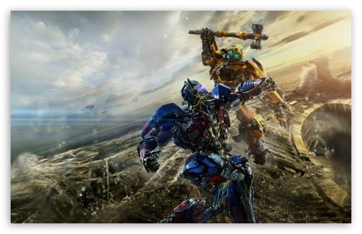 Download Bumblebee vs Optimus Prime Transformers The... UltraHD Wallpaper