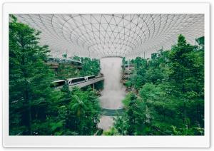 Singapore Airport Biodome...