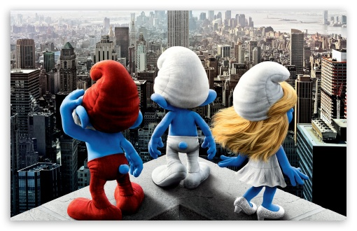 Download The Smurfs (2011) Movie UltraHD Wallpaper