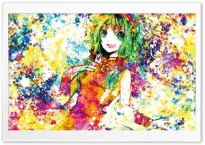 Anime Girl Colorful
