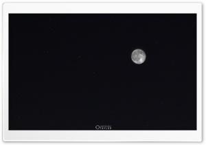 Moon and Ursa Major