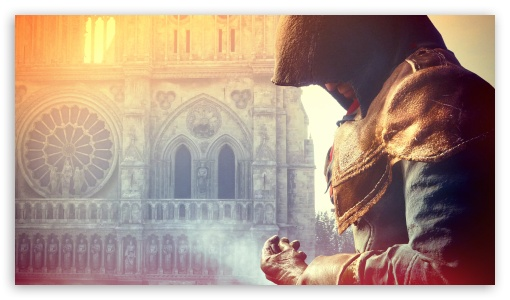 Download Assassin's Creed Unity Video Game 2014 UltraHD Wallpaper