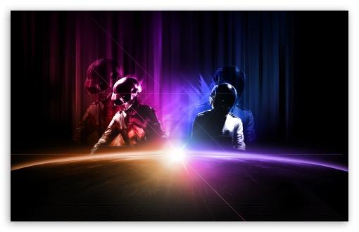 Download Daft Punk Live UltraHD Wallpaper