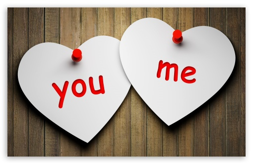 Download You and Me UltraHD Wallpaper