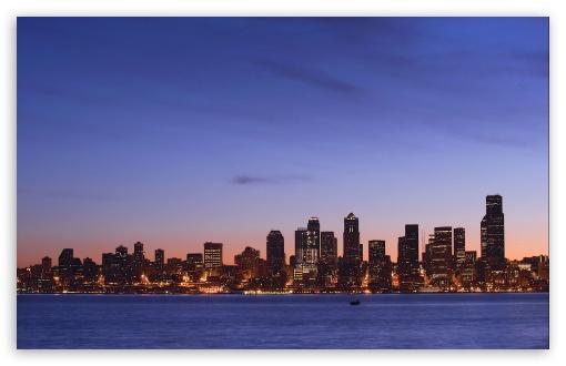 Download Seattle Skyline UltraHD Wallpaper