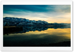 Mountain Lake Sunset