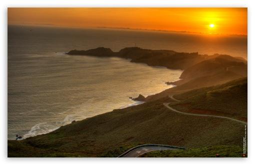 Download San Francisco Sunset HDR UltraHD Wallpaper