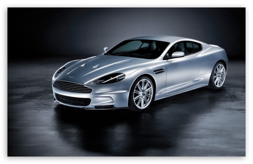 Download 2008 Aston Martin DBS Front And Side UltraHD Wallpaper