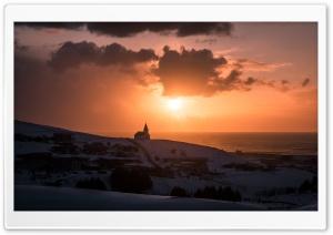 Beautiful Sunrise in Vik,...