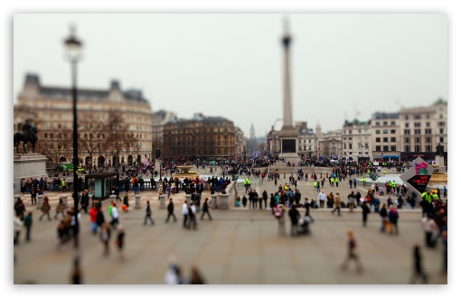 Download Tilt-Shift London UltraHD Wallpaper