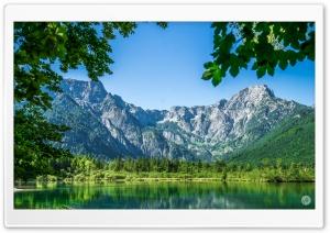 Alps Mountains Lake Landscape