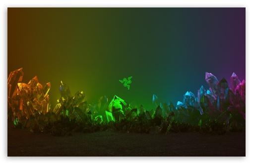 Download Razer Chroma Crystals Background UltraHD Wallpaper