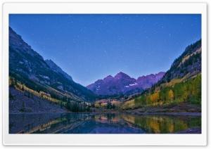 Alpenglow At Dawn, Maroon...