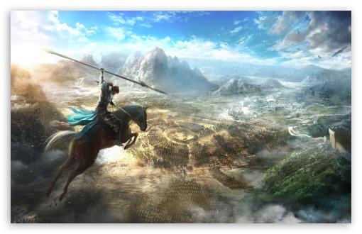 Download Dynasty Warriors 9 Key Art UltraHD Wallpaper
