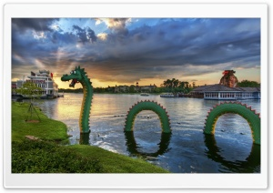 The Lego Dragon Disneyland