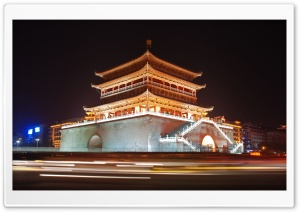 Bell Tower Of Xian, China