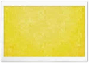 Yellow Pixels Background