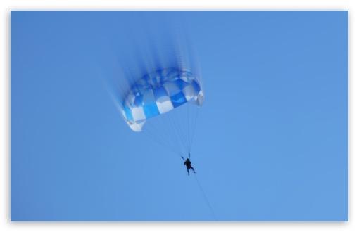 Download Parachute Man UltraHD Wallpaper