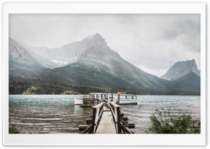 Saint Mary Lake, Glacier...