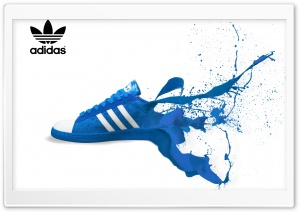 Adidas Shoe Ad