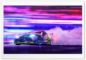 Toyota Supra Car Racing Drift...