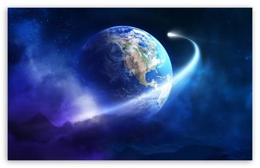 Download Earth Orbit UltraHD Wallpaper