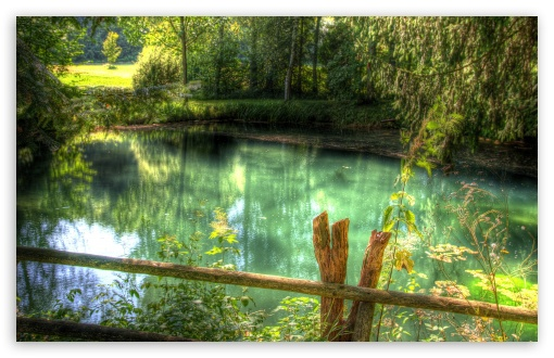 Download Clear Lake HDR UltraHD Wallpaper