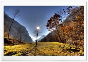 Mountain Scene Autumn