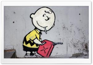 Charlie Brown Peanuts Graffiti