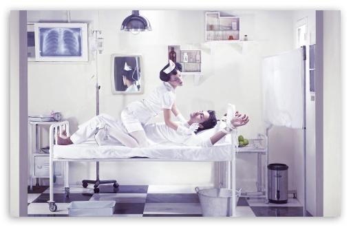 Download Nurses At Work UltraHD Wallpaper