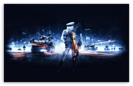 Download Battlefield 3 Girl UltraHD Wallpaper