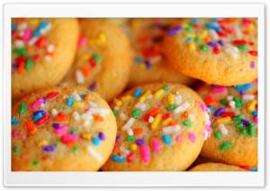 Sweet Rainbow Sugar Cookies
