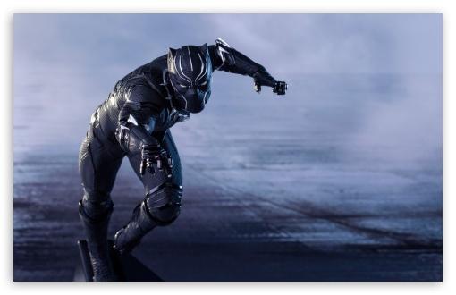 Download Captain America Civil War Black Panther UltraHD Wallpaper