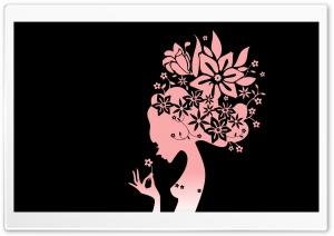 The Flower Girl Black