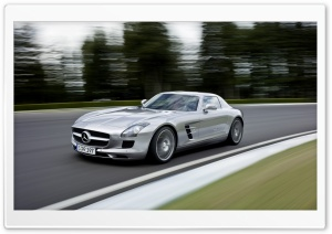 Mercedes Benz SLS AMG Speed