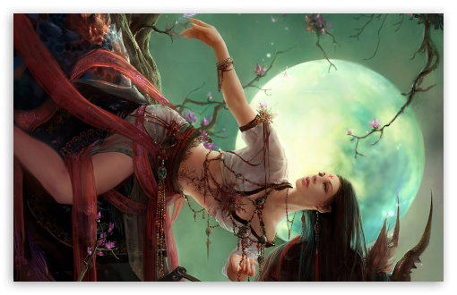 Download Fantasy Girl 70 UltraHD Wallpaper