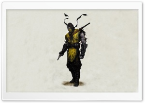 Mortal Kombat Scorpion Drawing