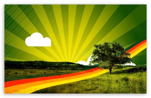 Download Abstract Rainbow UltraHD Wallpaper