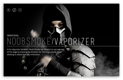 Download Mortal Kombat X Wallpaper Noob Smoke UltraHD Wallpaper