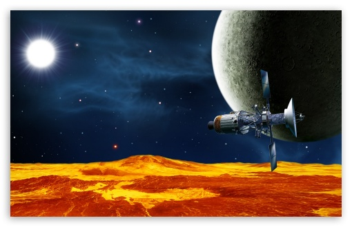 Download Space Satellite UltraHD Wallpaper