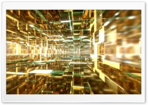 Aqua and Gold Tunnels