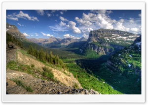 USA Glacier Mountain