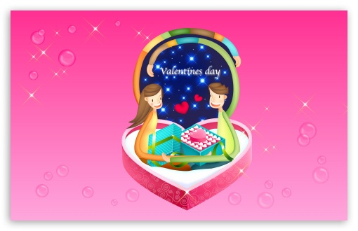 Download With Love Valentine's Day UltraHD Wallpaper