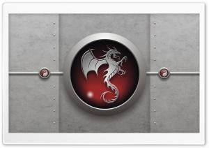 Tribal Dragon Red